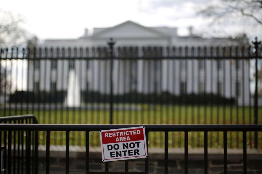 US President Donald Trump has praised the Secret Service after an intruder into the White House was arrested on March 10, 2017.