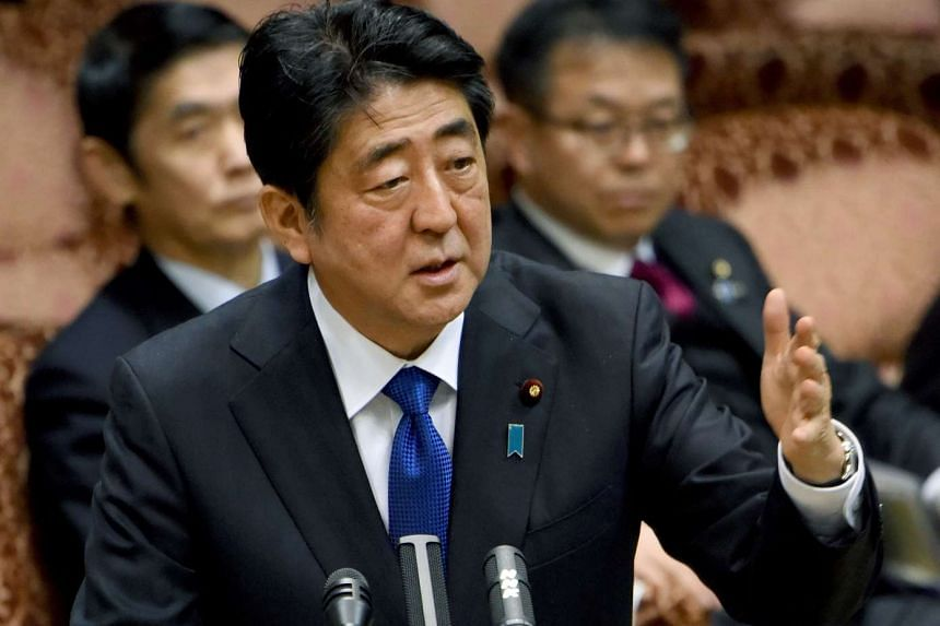Public support for Japanese Prime Minister Shinzo Abe slipped six points, despite his denial that neither he nor his wife was involved in the Moritomo Gakuen land puchase deal.