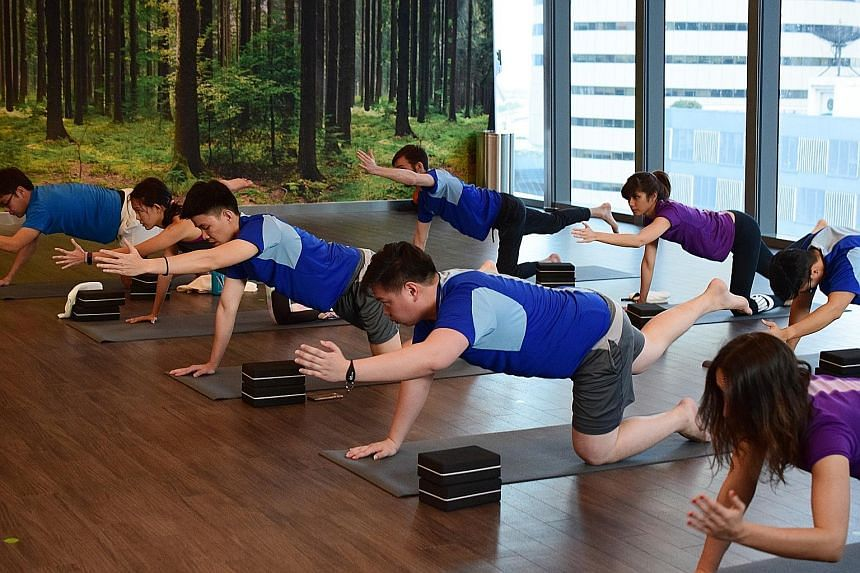 Broga, an adaptation of traditional yoga, is based on easy moves rather than body contortion and the all-embracing classes are now available in Singapore.
