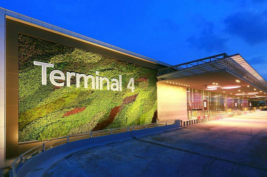 Changi Airport Terminal 4 will be Singapore's first checkpoint with multiple biometric capabilities.