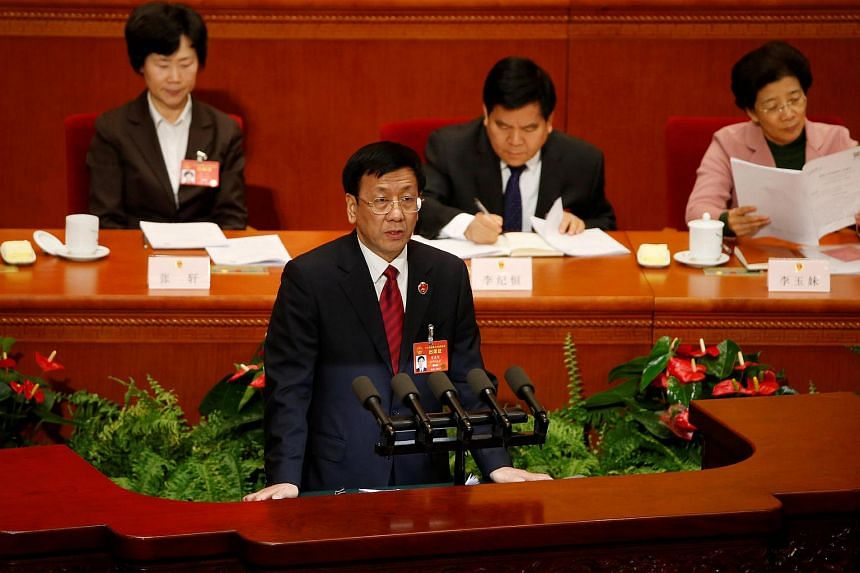 China's top prosecutor Cao Jianming vowed that there would be no let up in China's campaign against deep-seated graft.