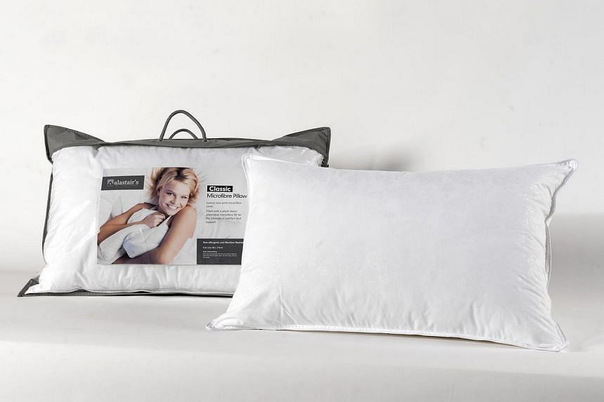 Readers can present a coupon to buy an Alastairs Classic Rose Microfibre Pillow at $39.90 and get another free.