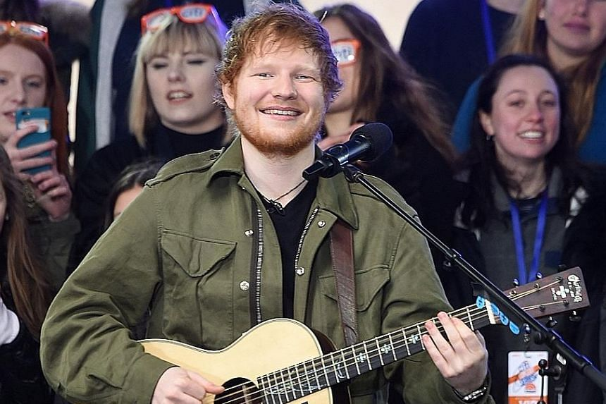 "Ed Sheeran's new album ÷, pronounced ""divide"", is the fastest selling by a solo male artist in British chart history."