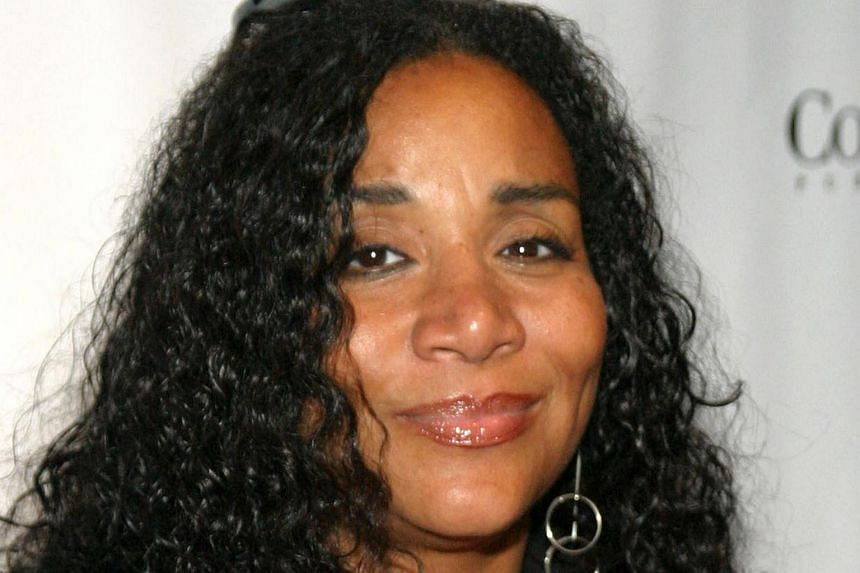 Joni Sledge from the band Sister Sledge arriving at the Conde Nast Grey Goose Gala at TAO in New York City, on Sept 21, 2004.