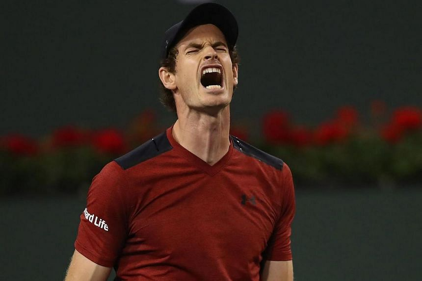 Andy Murray of Great Britain was defeated in straight sets during day six of the BNP Paribas Open on Saturday (March 11) in Indian Wells, California.