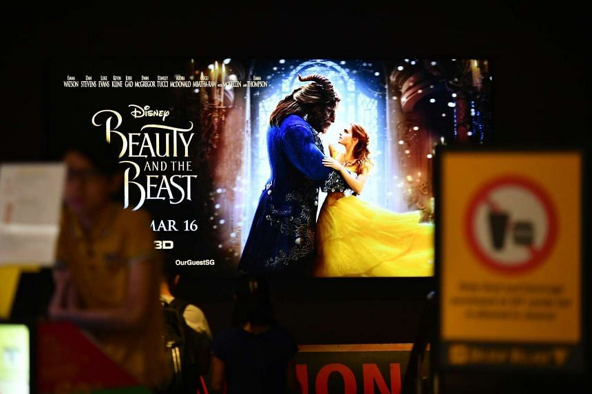 """Beauty and the Beast has been given a PG rating for """"mild portrayals of violence""""."""