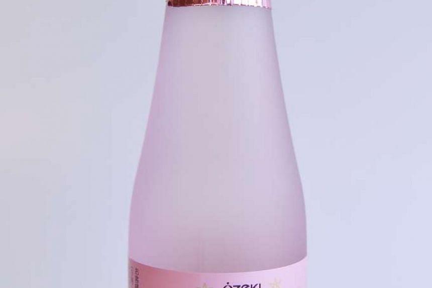 Ozeki sparkling sake from Sake Inn
