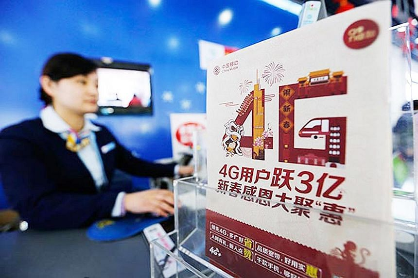 The number of 4G users in China reached 770 million last year, double the figure from a year earlier, data from the Ministry of Industry and Information Technology on Feb 17 showed. More than 95 per cent of Chinese go online using their phones, versu