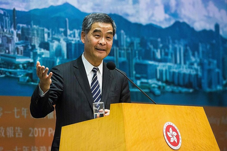 Mr Leung's new China role is seen as a reward from Beijing for his work.