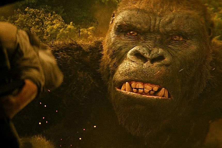 Kong: Skull Island fetched about $86 million in North America.