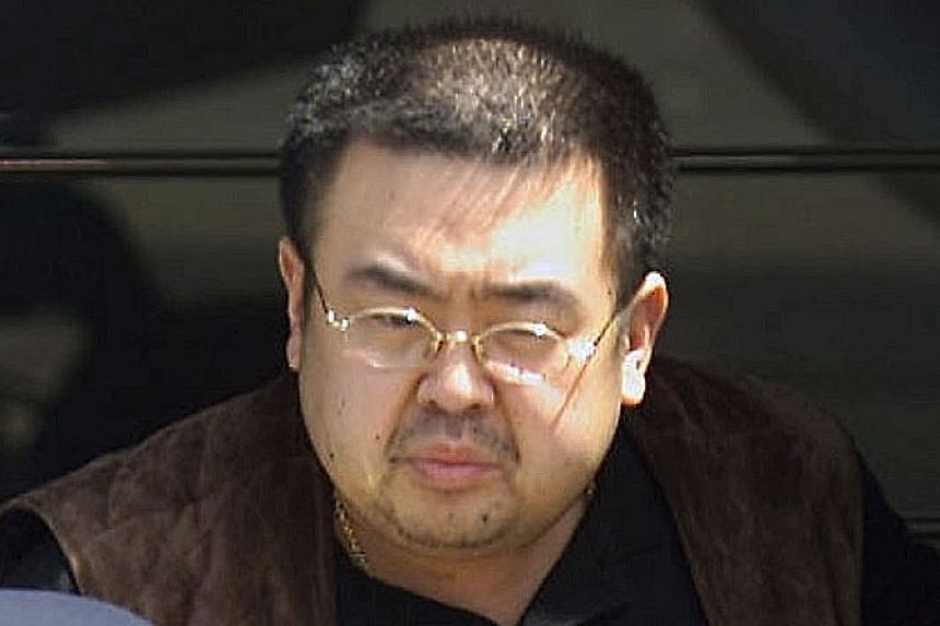 Mr Kim Jong Nam died on the way to hospital after two women allegedly smeared his face with a liquid before he was to board a flight to Macau.