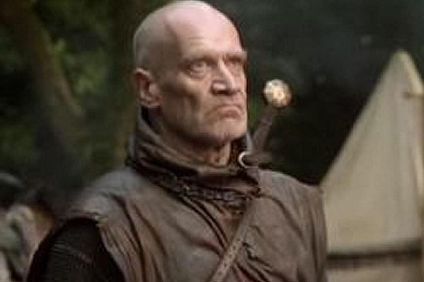 English guitarist Wilko Johnson (above) plays royal executioner Ser Ilyn Payne, while Snow Patrol's lead singer Gary Lightbody plays a soldier in northern lord Roose Bolton's army.