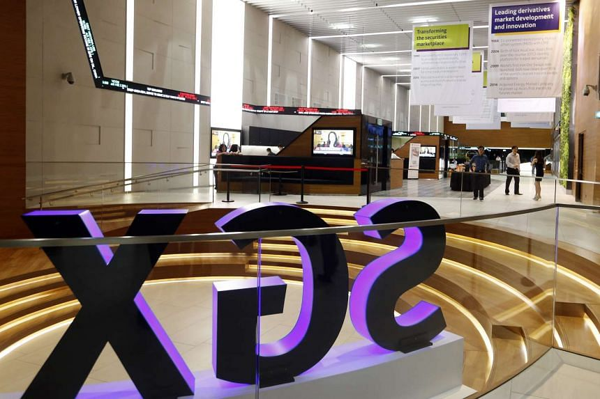 Singapore Exchange (SGX) headquarters at Shenton Way.