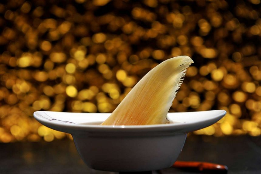 More restaurants and hotels are choosing not to serve shark's fin dishes.