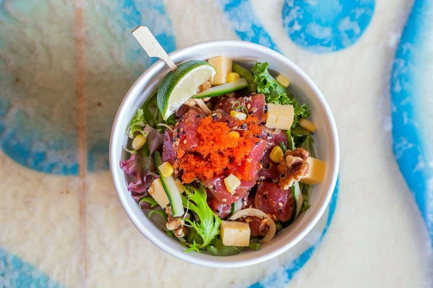 Grain and poke bowls are all the rage with Singapore's increasingly more health conscious dining crowd.