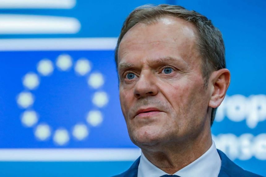 EU President Donald Tusk said the bloc will not bow to British threats on the Brexit.