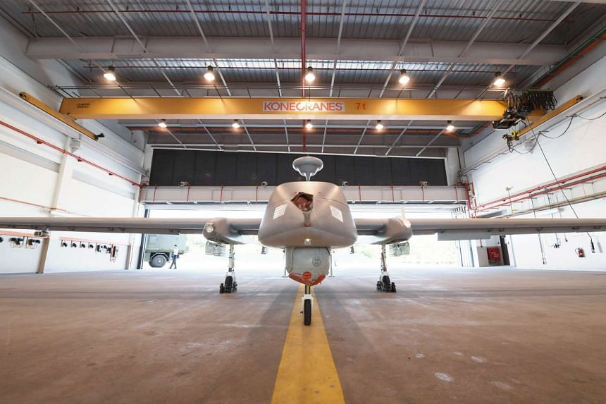 RSAF's new drone Heron 1 now combat-ready, Singapore News