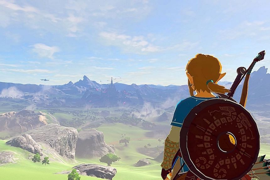You explore the game world on your own terms in The Legend Of Zelda: Breath Of The Wild.