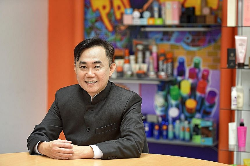 Mr Ng said the partnership with the Institute of Materials Research and Engineering as well as Nanyang Polytechnic has helped the Mase team learn more about nano dye technology. They have arrived at a hair-dye formula that is just two to three years