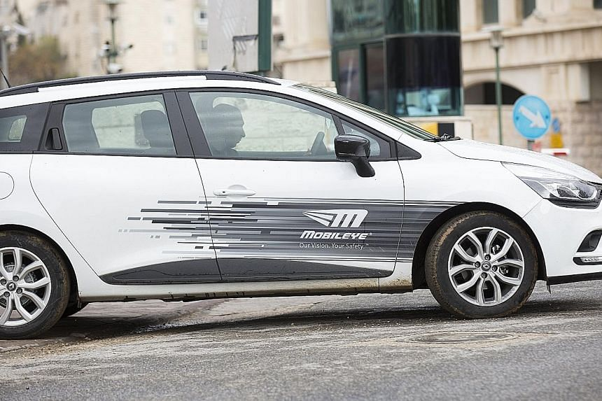 Intel's $22 billion purchase of Mobileye could thrust the US chipmaker into direct competition with rivals Nvidia and Qualcomm to develop driverless systems for global carmakers.