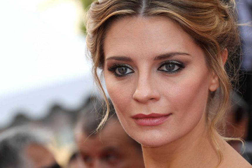 Actress Mischa Barton arriving for the screening of the film Loving at the 69th Cannes Film Festival in Cannes, southern France, on May 16, 2016.