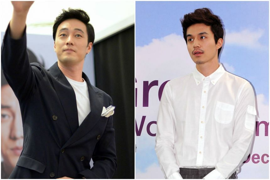 South Korean star So Ji Sub (left) will be holding his fan meet on April 9 at 6pm, while Lee Dong Wook will meet fans on April 15 at 7.30pm.