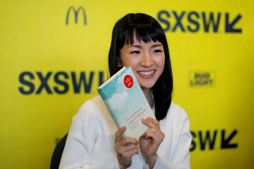 Marie Kondo at a book signing event at the South by Southwest Music Film Interactive Festival last Saturday.