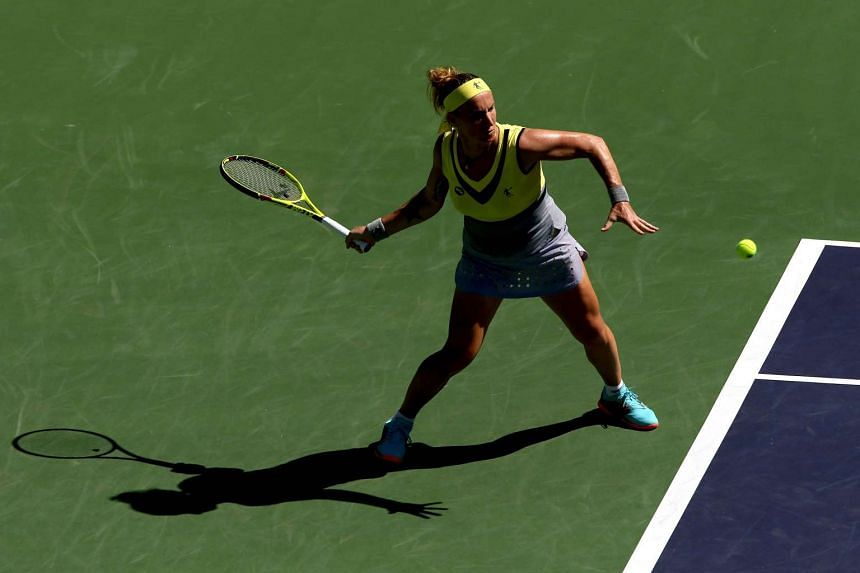 Russian Svetlana Kuznetsova is in the last eight in the California desert for the first time since reaching back-to-back finals in 2007 and 2008.