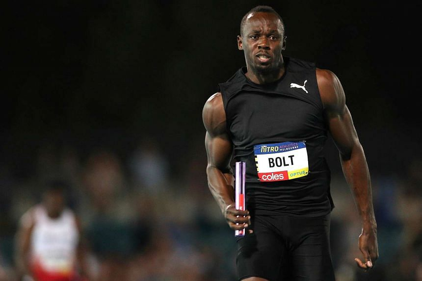Usain Bolt said he was happy with his training for the final few months of his career, which will end with his retirement after the world championships in August.