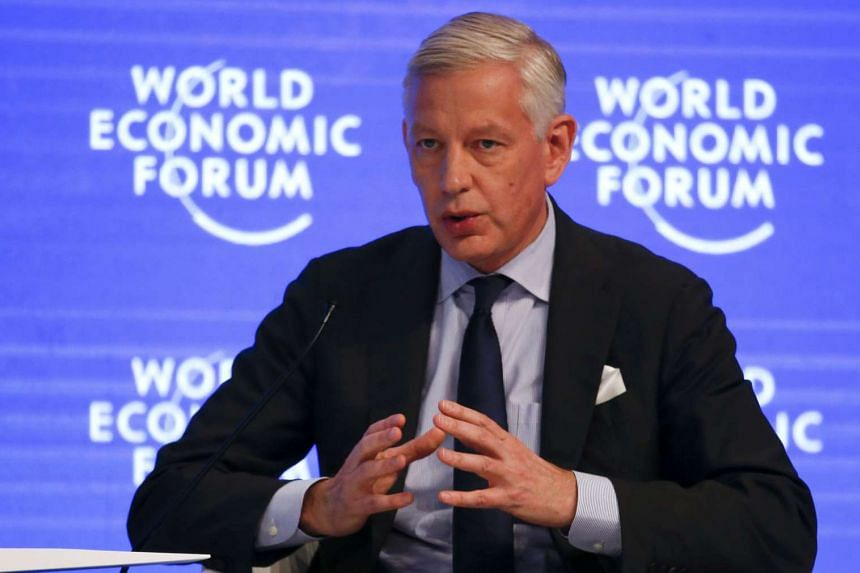 Mr Dominic Barton, Global Managing Partner, McKinsey & Company, attending the annual meeting of the World Economic Forum in Davos, Switzerland, on Jan 18, 2017.