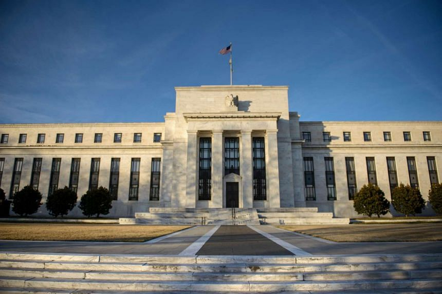 The Federal Reserve in Washington, DC.