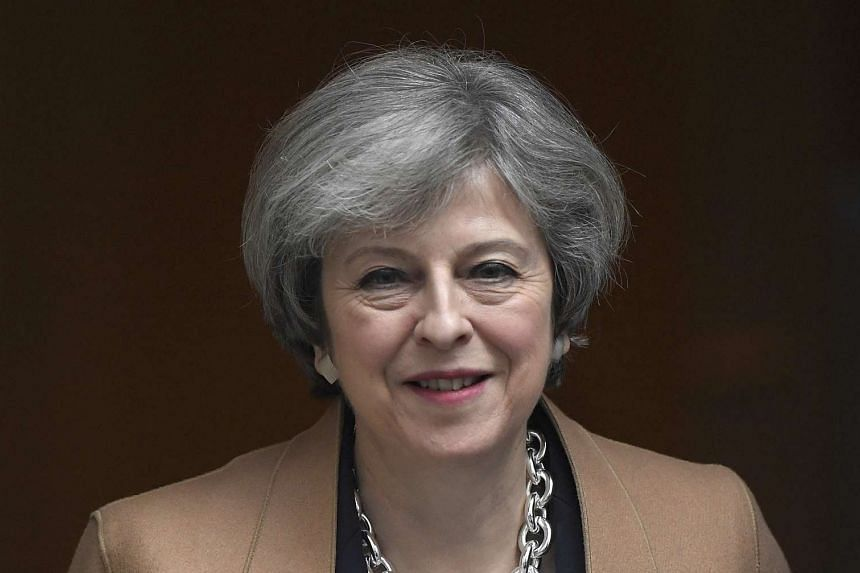 """Britain's Prime Minister Theresa May said """"now is not the time"""" for a second independence referendum for Scotland."""