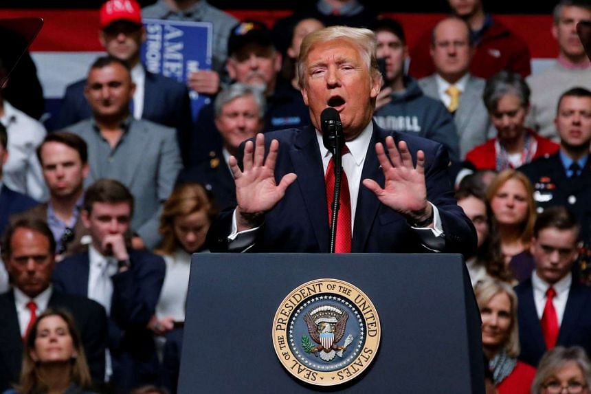 US President Donald Trump used his barnstorming strategy on Wednesday (March 15) to try to build momentum for his first legislative initiative by holding a massive rally in Nashville, Tennessee.