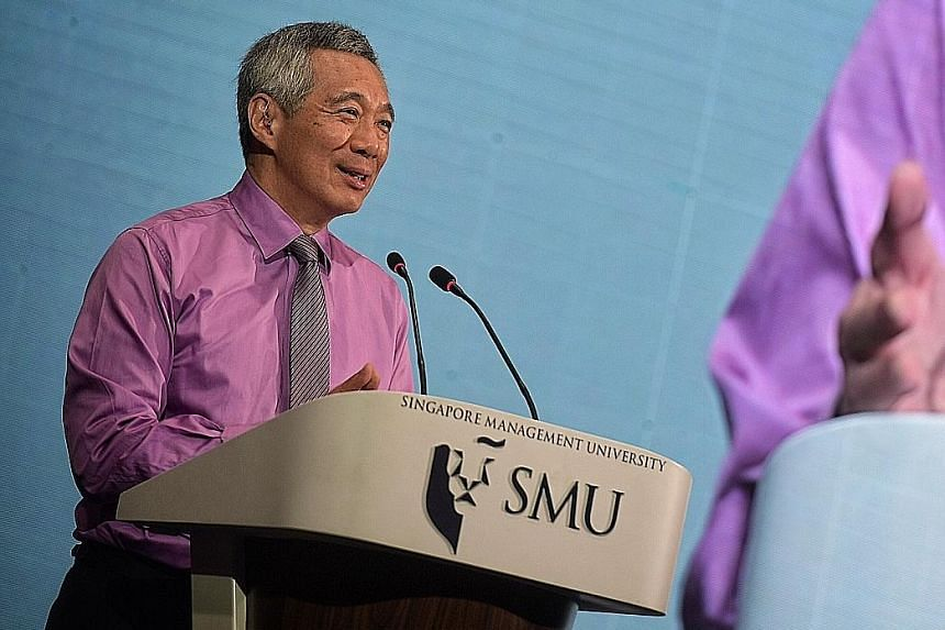 PM Lee says Singapore's law schools should produce lawyers prepared for disruptions.