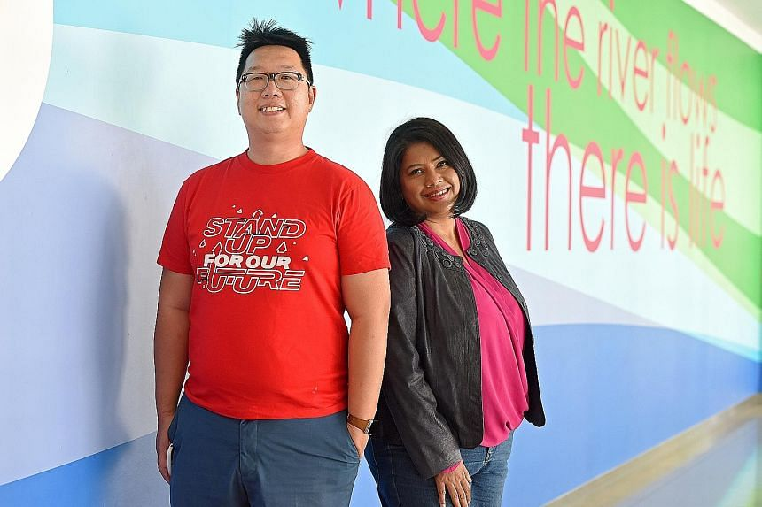 Mr Wally Tham, founder of social movement Stand Up For Our Singapore, and Ms Saleemah Ismail, co-founder of New Life Stories, a charity that reaches out to the children of incarcerated women. According to experts, the rise in such informal movements
