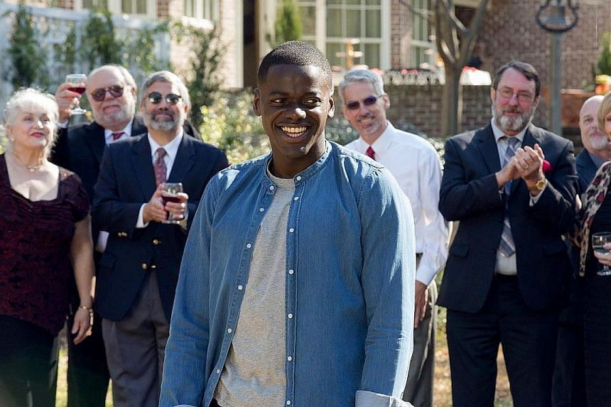 British actor Daniel Kaluuya plays an African- American man who has a white girlfriend in Get Out.
