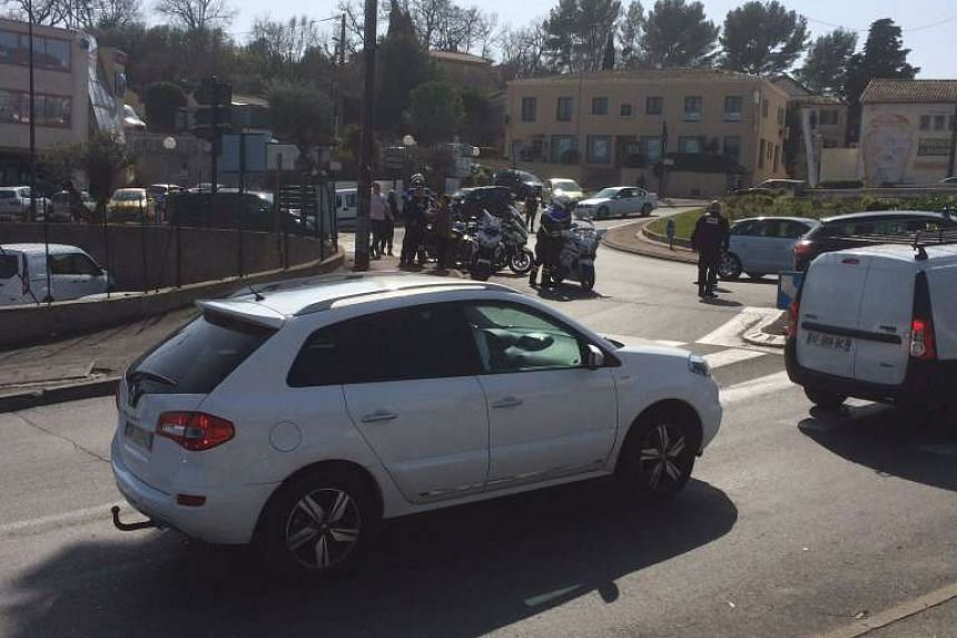Several people were reported injured in a shooting at a high school in Grasse, France.