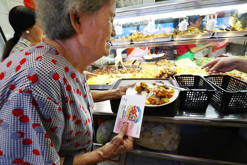 Thirty elderly residents in Toa Payoh East-Novena have been given coupons to redeem free meals on weekdays, under a programme by Toa Payoh East CCC. The Pioneer Generation Office had alerted the CCC to lonely seniors, and grassroots volunteers also identi