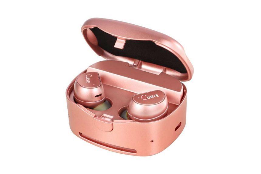 Curve True Wireless Fitness EarBuds TWS-X100