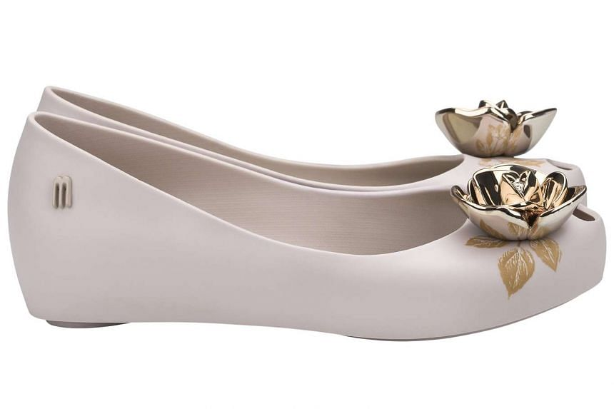 Ballet flats from Melissa's Beauty And The Beast collection
