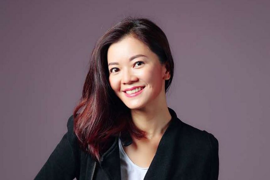 Film-maker and actress Michelle Chong.