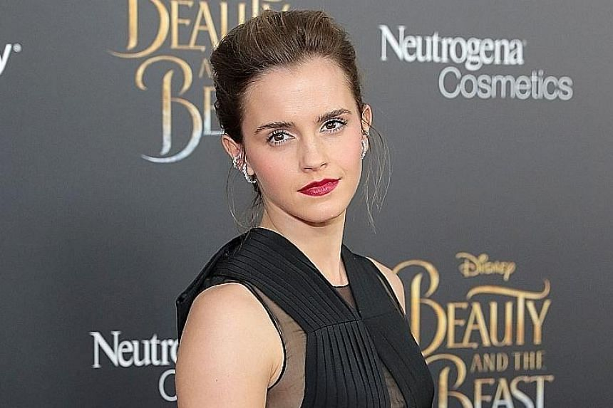 Emma Watson's (left) stolen pictures were shot during a fitting with a stylist a few years go, her publicist said. The leaked nude photos of Amanda Seyfried (right) included images of her with an ex-boyfriend, celebrity gossip portal TMZ reported.