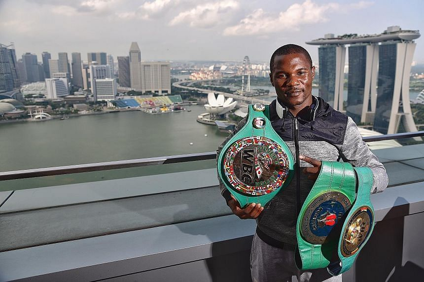 World Boxing Council silver welterweight champion Charles Manyuchi (above) of Zimbabwe will be taking on Asian boxer Qudratillo Abduqaxorov of Uzbekistan in the 66.7kg division at the OCBC Arena next Saturday.