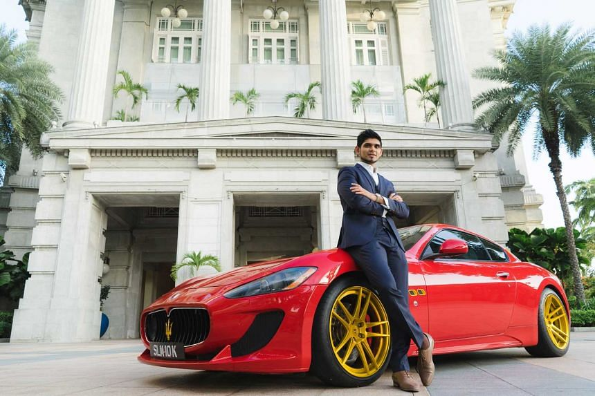 Sathish Rames wants to use his success to make a difference to the under-privileged around the world. Location: The Fullerton Hotel Singapore.