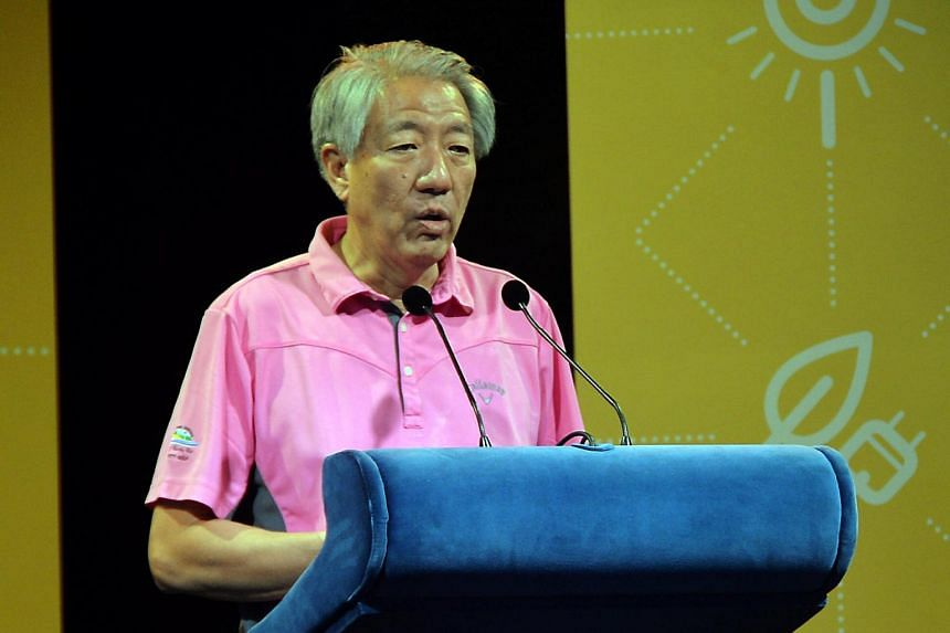 DPM Teo Chee Hean delivered the opening speech and officially launched Shell Make the Future Singapore 2017 on March 17, 2017.