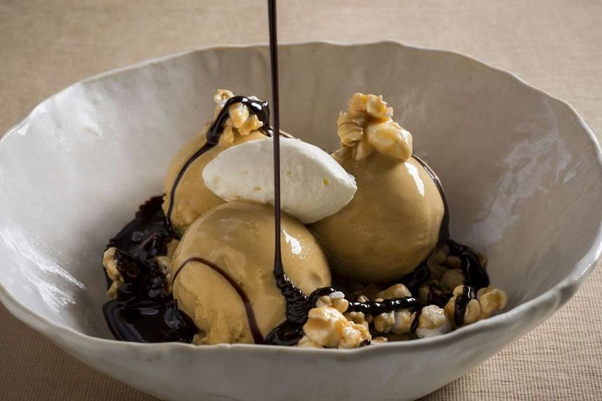 Desserts are the stars with the decadent salted caramel ice-cream sundae and signature warm chocolate cake opening the floodgates to a smooth flow of molten sauce.