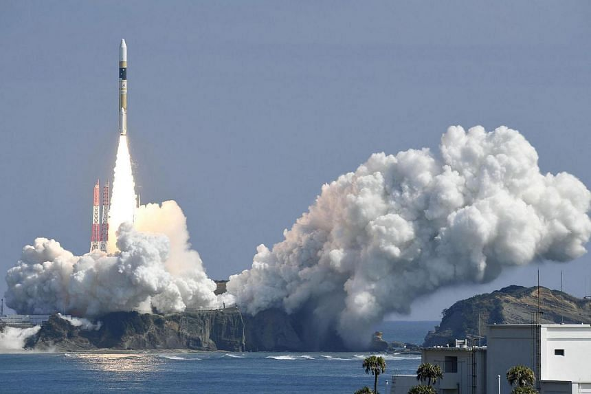 Japan launched a new spy satellite on Friday (March 17).