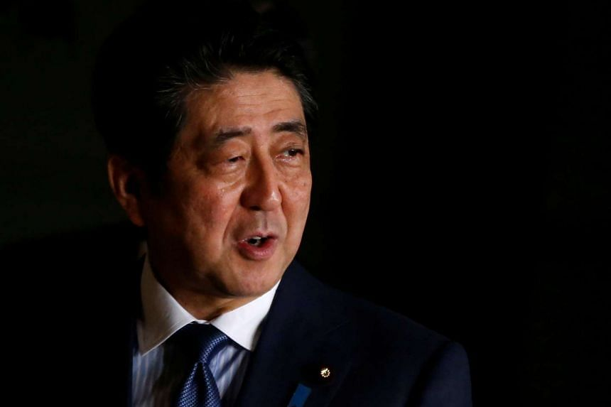 Japanese Prime Minister Shinzo Abe's term as ruling Liberal Democratic Party president ends in 2018.