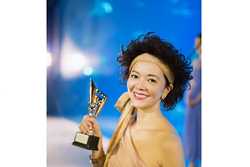 A still from Lulu the Movie of Michelle Chong, who was not present to receive the award.