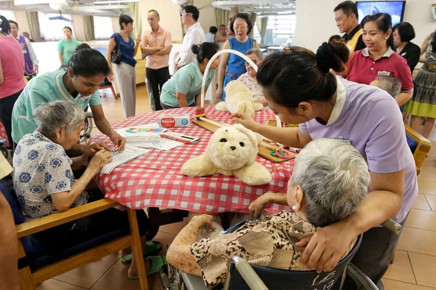 Official Opening of Lions Home for the Elders at Bishan, on March 18, 2017.